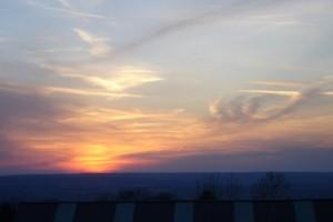 sunset Finger Lakes, New York