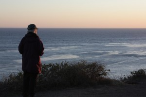 Elaine at Pacific Ocean, CA 2012