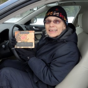 Listening to Pema Chodron in the car