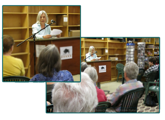 "Elaine Mansfield Reading ""The Green Man"" at Works-in-Progress, Spring (W)rites, May 5, 2013"