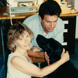 Elaine. Vic, and Leo on a good day: 1990