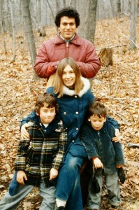 Family, Thanksgiving 1977