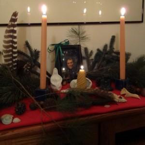 Solstice altar 2012