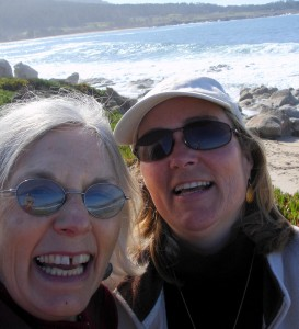 With Lauren in Carmel, CA
