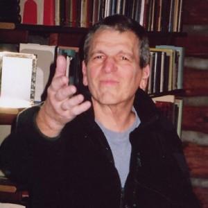 Vic in his last weeks (Herbert Shapiro)
