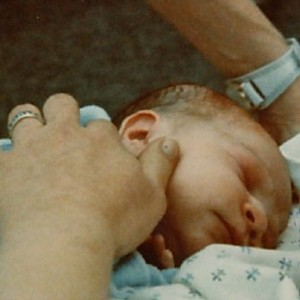 Ring on the hand that held my babies, 1974