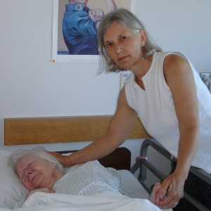 Elaine and her mom, 2007