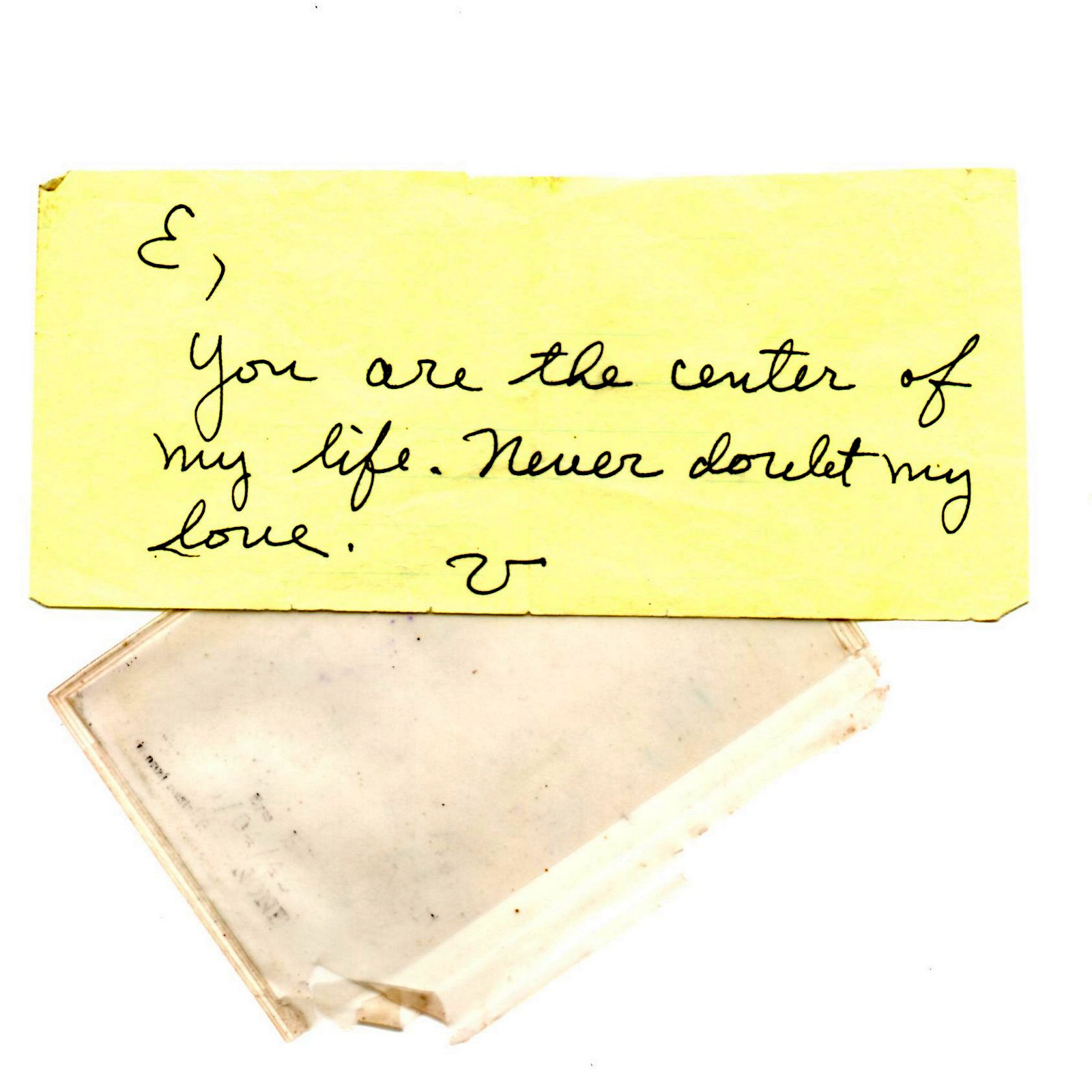 A Love Note from Beyond - Elaine Mansfield
