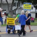 July: local parade