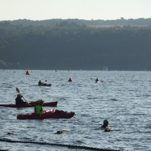 August: Women Swimin' for Hospicare