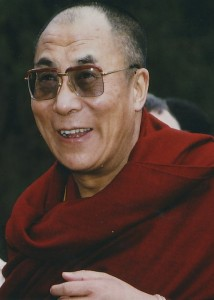 Dalai Lama (photo by Vic Mansfield)