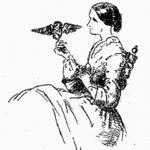 Florence holding Athena