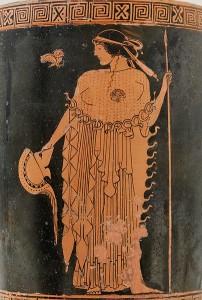 Goddess Athena wih owl (wikipedia)