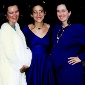 At Eve's wedding, Lauren on the left