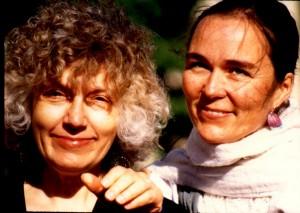 Elaine & Lauren with the Dalai Lama