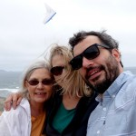 With Pat and Anthony and a hang glider. Or is that an angel?