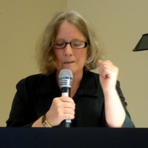 Tish Pearlman reading her poetry
