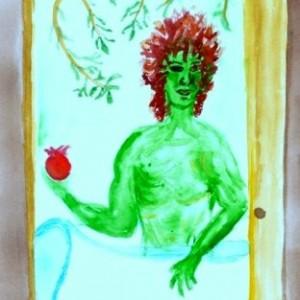 Elaine's Green Man dream
