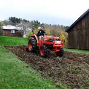 Tilling for a fresh start in the spring