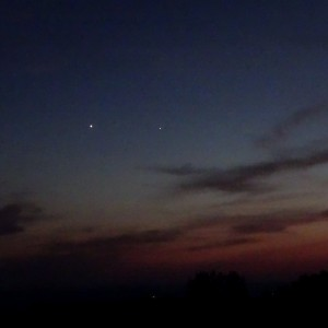Venus-Jupiter conjunction