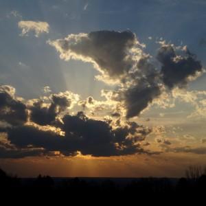 Sunset at home May