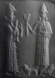 Inanna and possibly Ninshubur