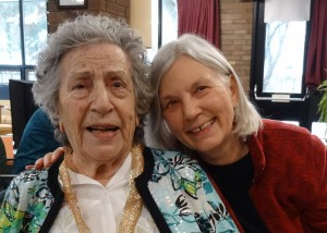 Virginia & Elaine at her 100th birthday party
