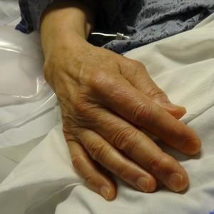 Jim's hand