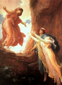 The Return of Persephone, Frederic Leighton, 1891