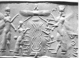 Sumerian Bee Goddess (goddessgift.net)
