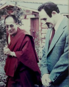 Dalai Lama and Anthony Damiani