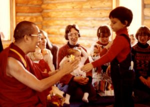 Anthony Mansfield and the Dalai Lama
