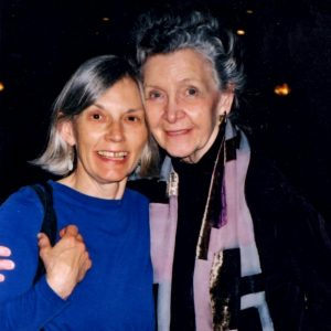 Marion Woodman and Elaine 2003