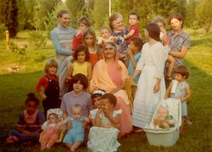 Mataji at Wisdom's Goldenrod ~1976