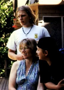 Pat with Rafael and Nick, 1997