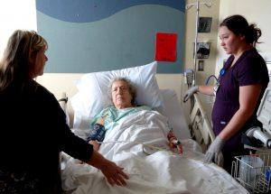 Tinker, Virginia, and a nurse