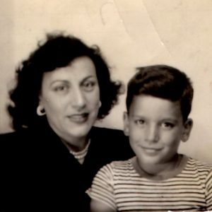 Virginia and Vic 1945