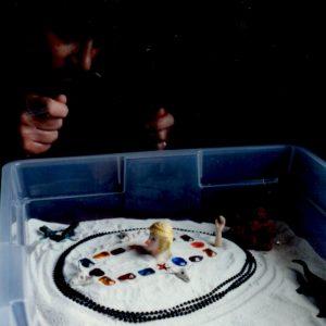 Creating a sandtray, 1992