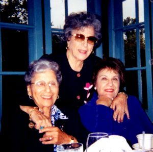 Helen, Virginia, and Rose (L-R), 2002