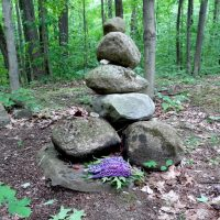 Vic's cairn