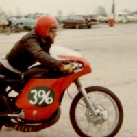 My motorcycle animus, 1967