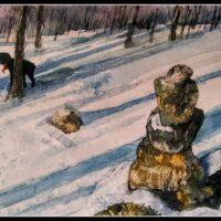 """Black Dog Winter"" by Tobias Inigo"