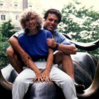 Vic, Elaine, Wall Street Bull 1992